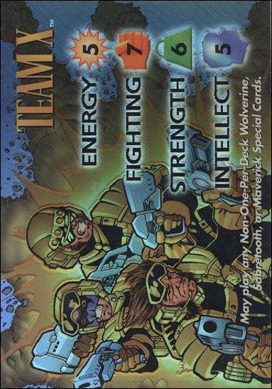 Marvel vs WildStorm (Overpower Chrome Subset) OP5-A by Fleer/SkyBox