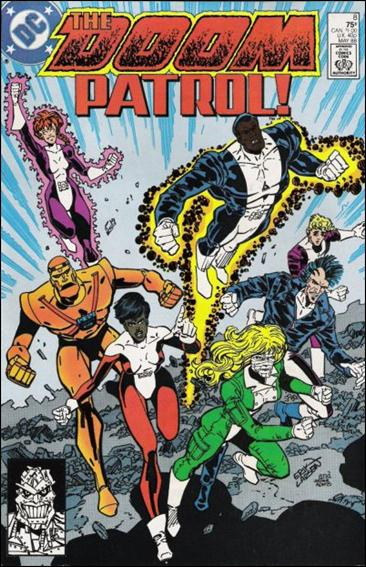 Doom Patrol (1987) 8-A by Vertigo