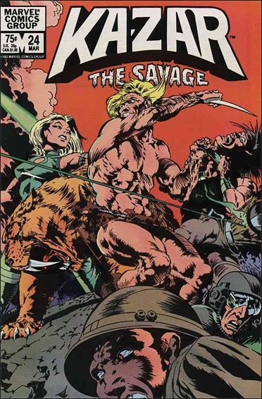 Ka-Zar the Savage 24-A by Marvel