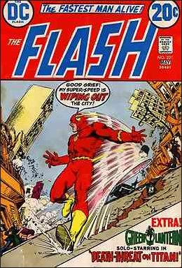 Flash (1959) 221-A by DC