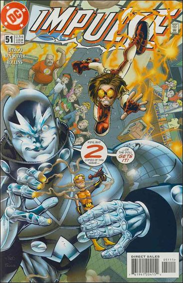 Impulse (1995) 51-A by DC