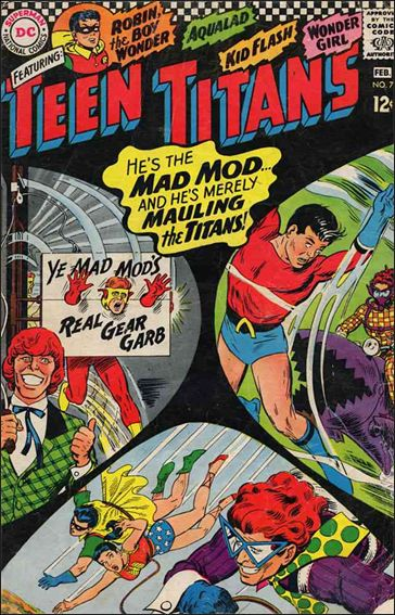 Teen Titans (1966) 7-A by DC