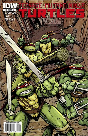 Teenage Mutant Ninja Turtles (2011) 2-C by IDW
