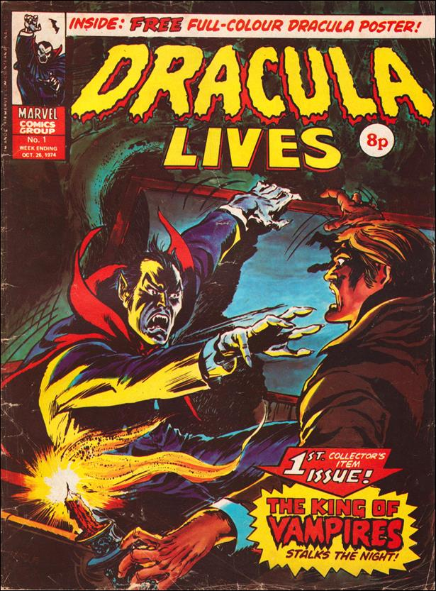 Dracula Lives (UK) 1-A by Marvel UK