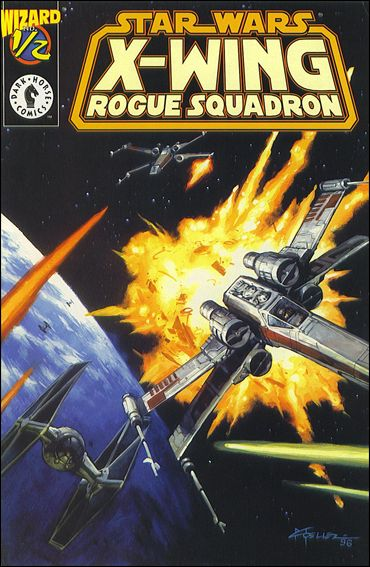 Star Wars: X-Wing Rogue Squadron 1/2-A by Dark Horse