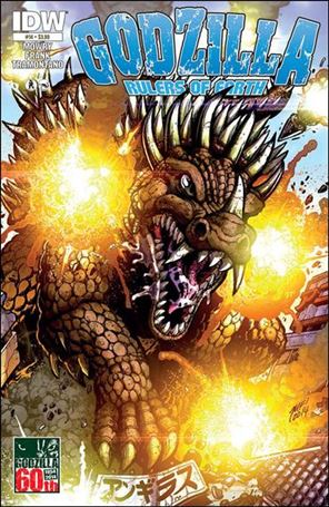 Godzilla: Rulers of the Earth 14-A