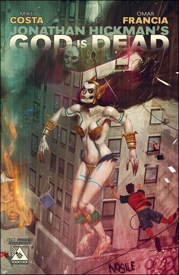God is Dead 14-B by Avatar Press