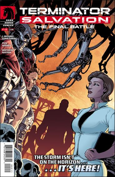 Terminator Salvation: The Final Battle 2-A by Dark Horse