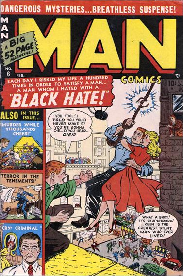 Man Comics 6-A by Atlas