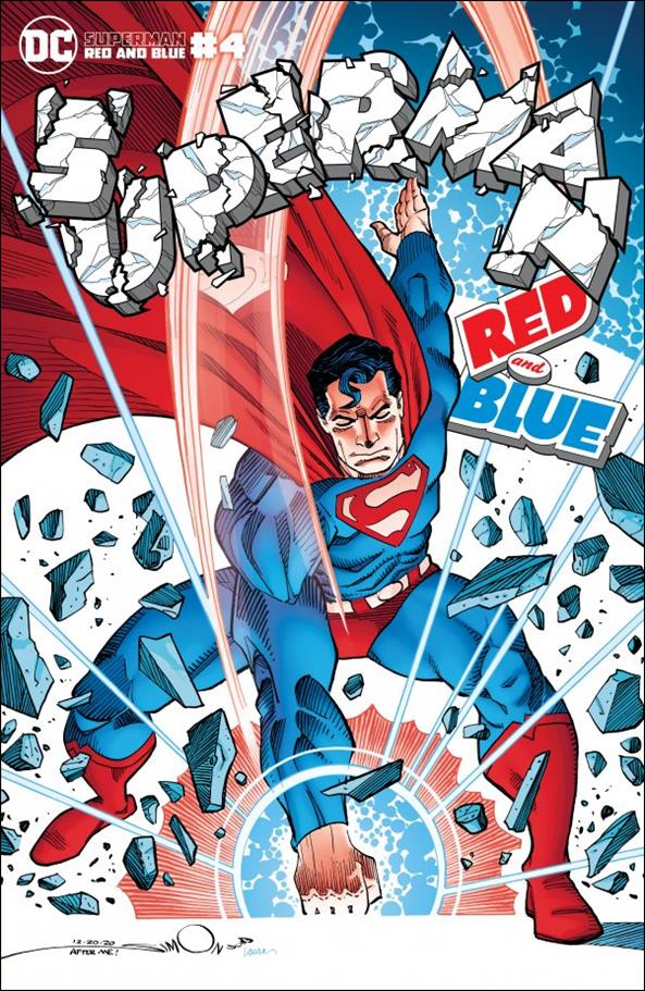 Superman Red and Blue 4-B by DC