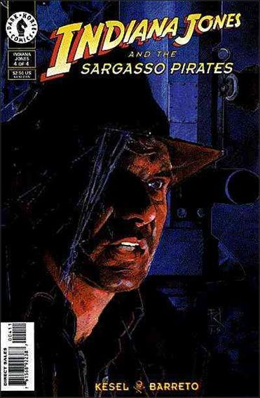 Indiana Jones and the Sargasso Pirates 4-A by Dark Horse