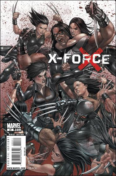 X-Force (2008) 20-A by Marvel