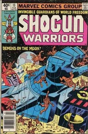 Shogun Warriors 13-A