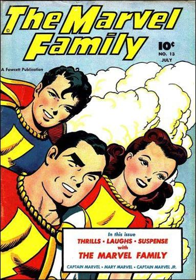Marvel Family 13-A by Fawcett
