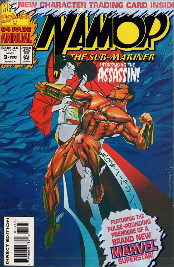 Namor: The Sub-Mariner Annual 3-B by Marvel