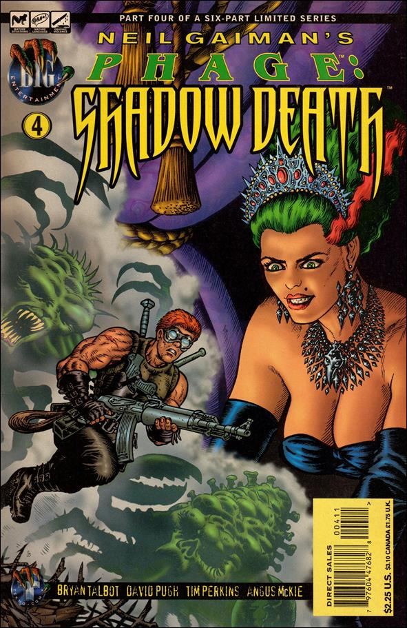 Neil Gaiman's Phage: Shadow Death 4-A by BIG Entertainment