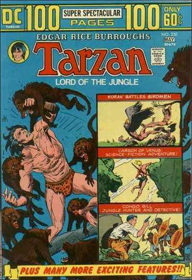 Tarzan (1972) 230-A by DC