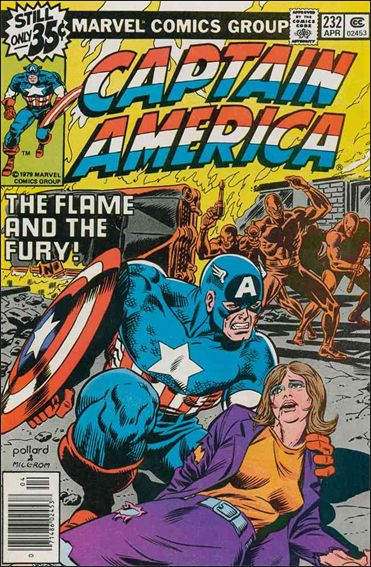 Captain America (1968) 232-A by Marvel