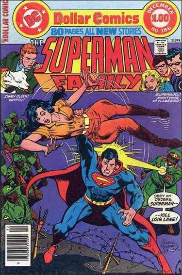 Superman Family 186-A by DC