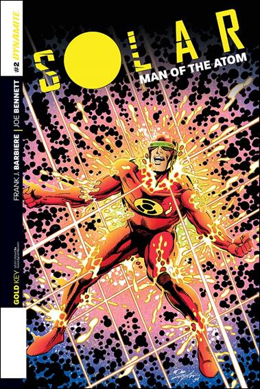 Solar: Man of the Atom (2014) 2-B by Dynamite Entertainment