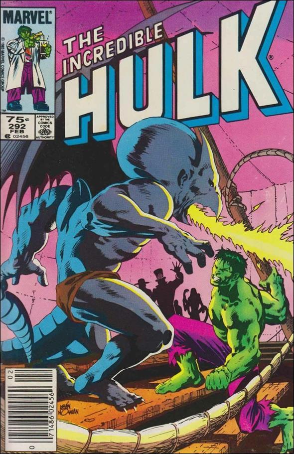 Incredible Hulk (1968) 292-B by Marvel