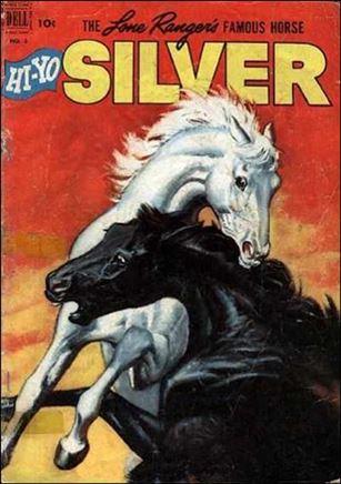 Lone Ranger's Famous Horse Hi-Yo Silver 3-A