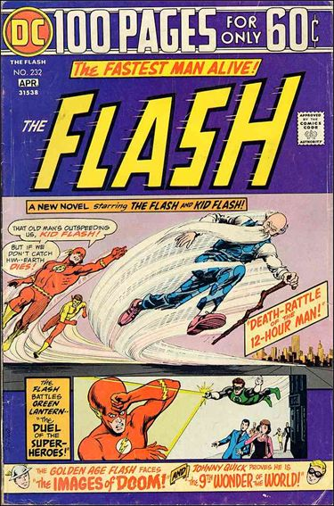 Flash (1959) 232-A by DC