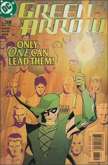 Green Arrow (2001) 38-A by DC