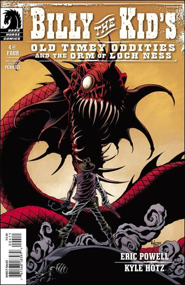Billy the Kid's Old Timey Oddities and The Orm of Loch Ness 4-A by Dark Horse