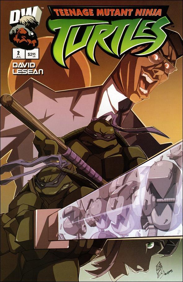 Teenage Mutant Ninja Turtles (2003) 2-A by Dreamwave