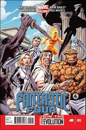 Fantastic Four (2013) 5-A