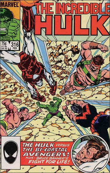 Incredible Hulk (1968) 316-A by Marvel