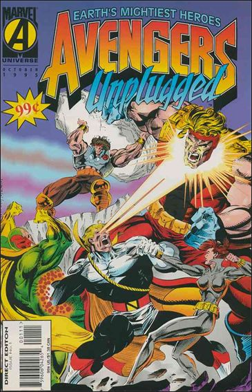 Avengers Unplugged 1-A by Marvel
