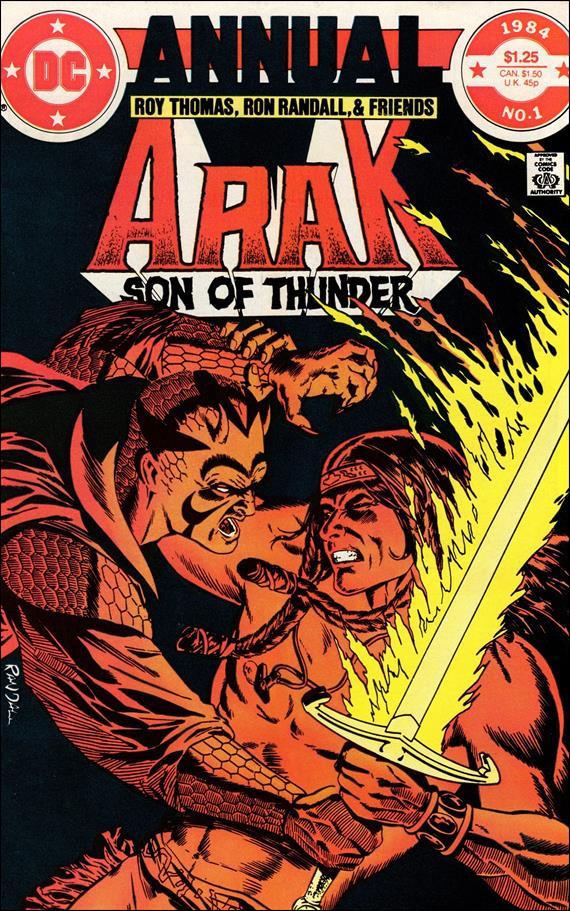 Arak Son of Thunder Annual 1-A by DC