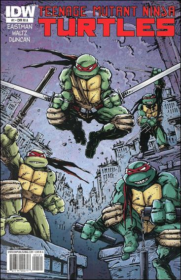 Teenage Mutant Ninja Turtles (2011) 1-E by IDW
