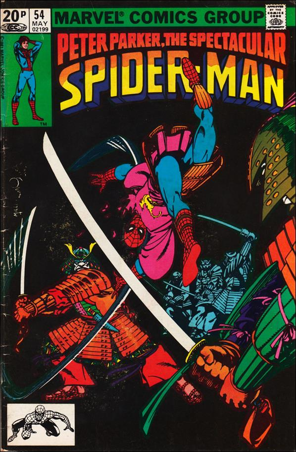Spectacular Spider-Man (1976) 54-B by Marvel