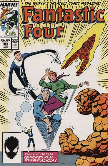 Fantastic Four (1961) 304-A by Marvel