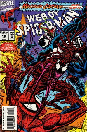 Web of Spider-Man (1985) 103-A