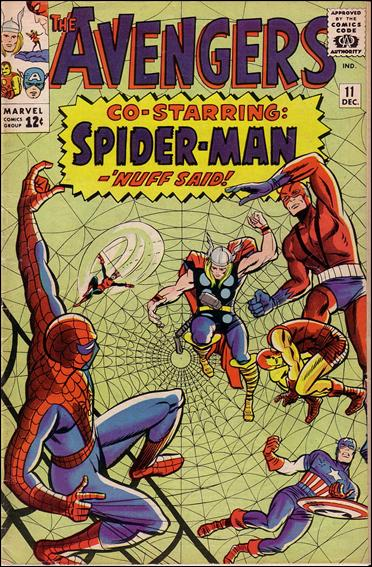 Avengers (1963) 11-A by Marvel