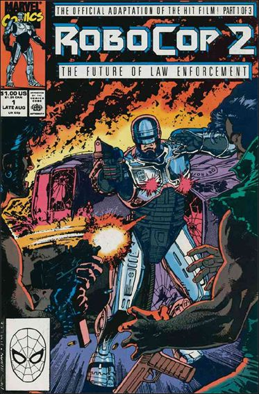 Robocop 2 1-A by Marvel