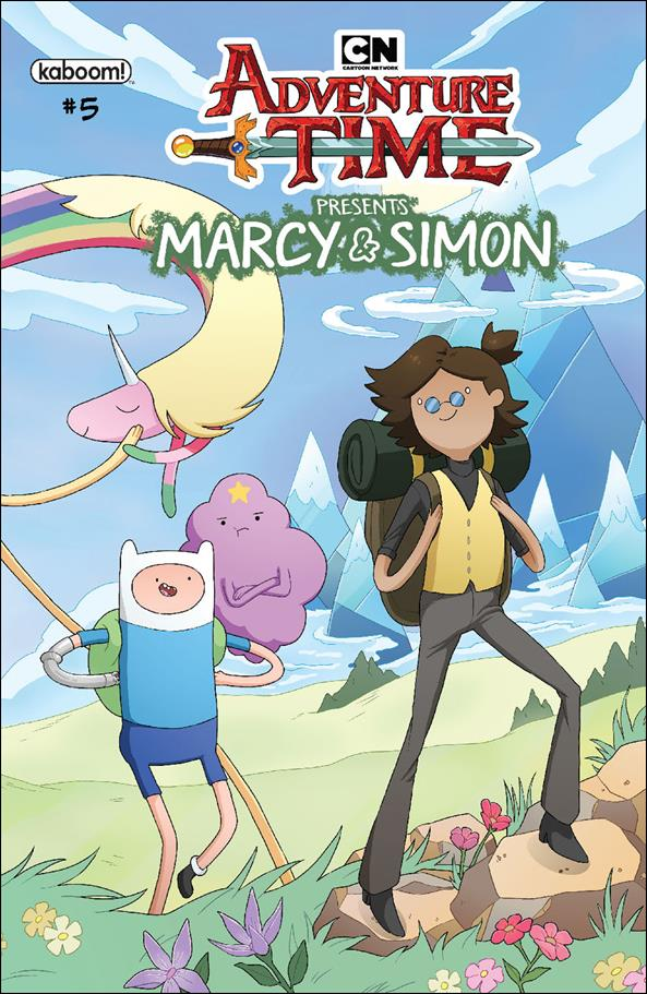 Adventure Time: Marcy & Simon 5-C by Kaboom!