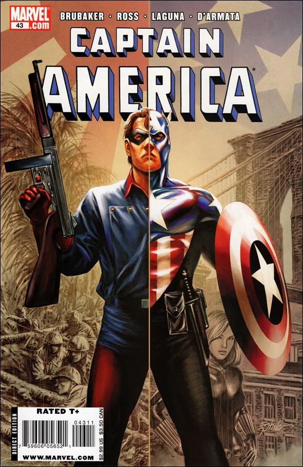 Captain America (2005) 43-A by Marvel