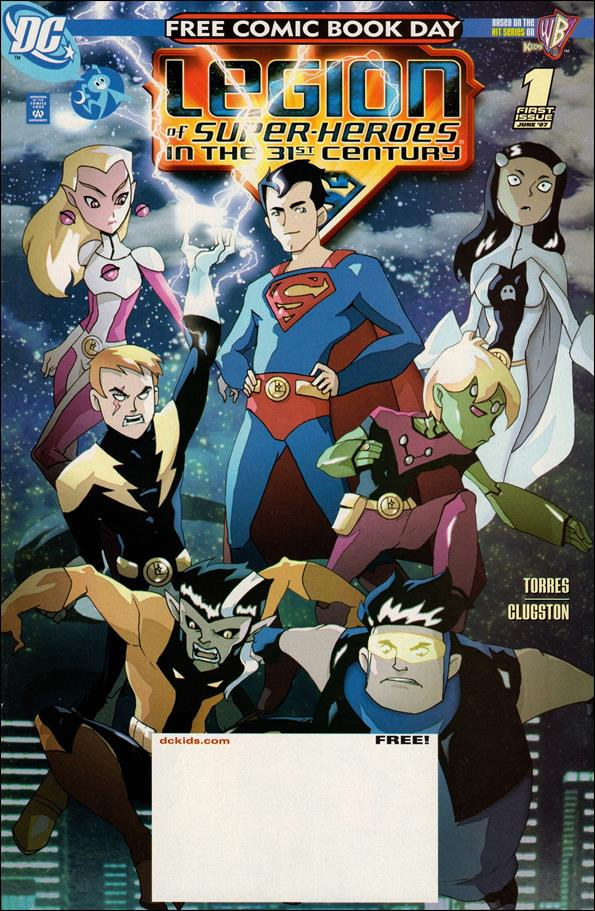Legion of Super-Heroes in the 31st Century 1-B by DC