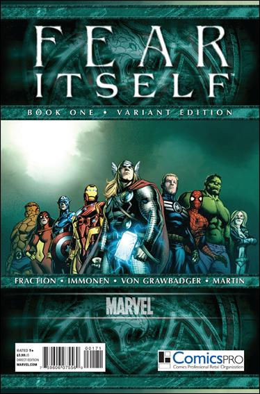 Fear Itself 1-D by Marvel