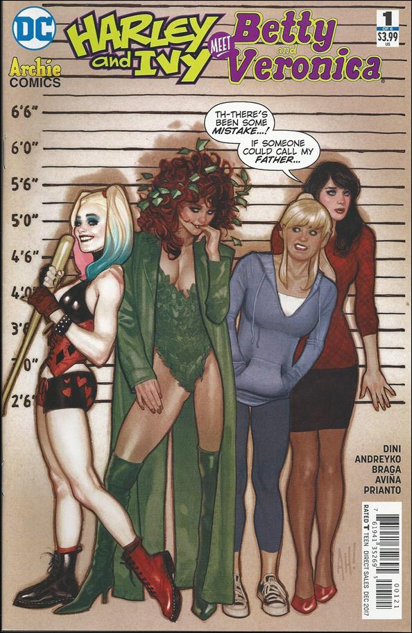 Harley & Ivy Meet Betty & Veronica 1-B by DC
