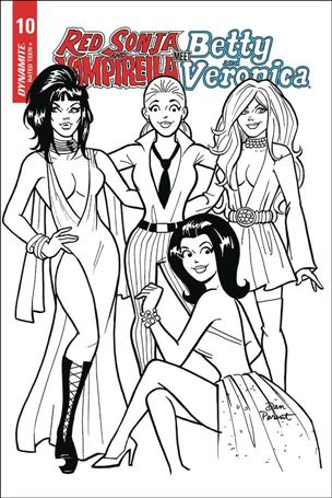 Red Sonja and Vampirella Meet Betty and Veronica 10-H