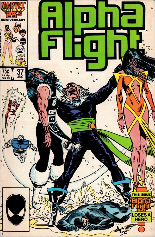 Alpha Flight (1983) 37-A by Marvel