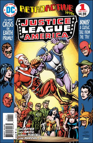 DC Retroactive: Justice League of America - The 70's  1-A by DC