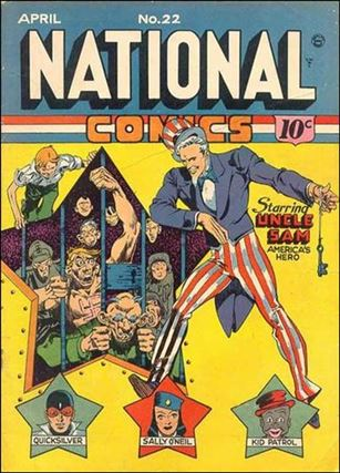 National Comics (1940) 22-A