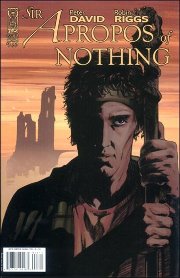 Sir Apropos of Nothing 3-B by IDW